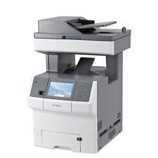 Lexmark X734de Multifunction Colour Laser Printer Scan Copy Fax
