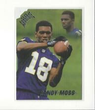 1998 Absolute Retail #40 Randy Moss RC Rookie Vikings