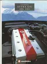 VAUXHALL ASTRA GSi 1.8i 16v SALES BROCHURE MAY 1993