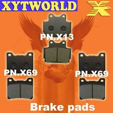 FRONT REAR Brake Pads for Yamaha RD 500 LC 1984-1986