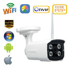 1080P 2.0MP Waterproof Outdoor Wireless Network IP Camera IR P2P ONVIF Sony Cmos