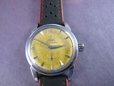Omega Seamaster automatic 2846 tropical dial 4x signed 50`s