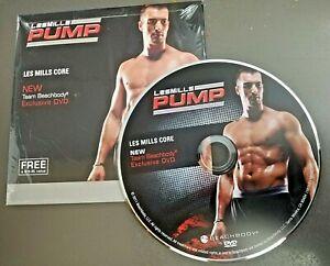 Les Mills Pump Core Exclusive Release DVD Core Focused Authentic Bonus Workout