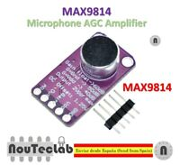 MAX9814 Microphone Amplifier Board Module Auto Gain Control AGC Electret