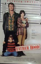 Father Hood Original Double Sided Movie Poster Patrick Swayze Halle Berry 1993