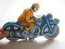 Ballon Cordatic 1960's Vintage Metal Toy Friction Litho Tin Motorcycle Lemez