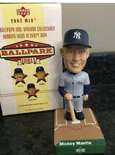 2002 UD Ballpark Idols MICKEY MANTLE NY YANKEES HOF  SP BOBBLE HEAD