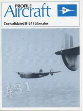 Consolidated B-24J LIBERATOR - Profile Aircraft (19) Monograph 1982 Drawings