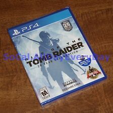 Rise of the Tomb Raider 20 Year Celebration (PlayStation 4) BRAND NEW SEALED ps4