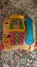 Fisher Price Phone with directory for learning fun 2003 #B4759