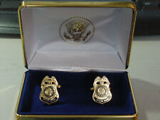 Pair of Special Agent State department diplomatic security services cufflinks