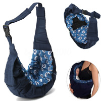 Newborn Baby Sling Carrier Infant Ring Wrap Soft Nursing Pouch Front