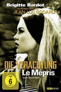 Die Verachtung - Le Mepris [DVD/NEU/OVP] Jean-Luc Godard mit Brigitte Bardot