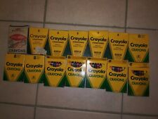 13 Packs Of Vintage Crayola & 1 Box Of Of Little Artist Crayons All Unopened