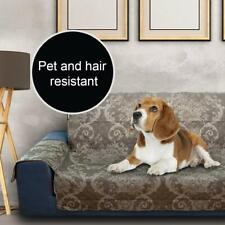 """Dcp Sofa Slipcover Furniture Protector Couch Seat Cover for Dogs Cat,54"""",Coffee"""