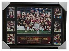 2016 State of Origin Champions Queensland Maroons Official NRL Tribute Frame