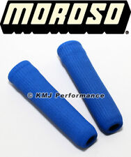 Moroso 71992 High Temperature Spark Plug Slip On Wire Boot Sleeves Blue - PAIR