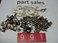 Pioneer SX-990/1500TD Chassis Screws & Parts Parting Out Entire SX-990 Receiver