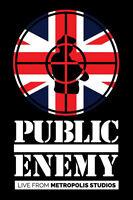 Public Enemy Live At Metropolis Studios (2015) 21-track DVD Nuovo/Sigillato