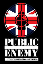 PUBLIC ENEMY Live At Metropolis Studios 2015 21-track Blu-ray NEW/SEALED