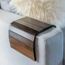 """Black Japan Premium Bamboo Couch Sofa Arm Table -  One Size Fits All """"Couchmate"""""""