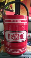 Vintage Dryden Motor Oils / Grease Ice Bucket Advertising Rare FREE SHIPPING