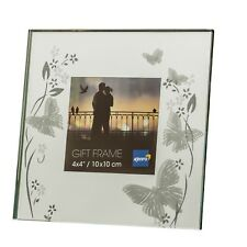 Kenro Solitaire Butterfly Series Photo Frame for 4x4 UK FREEPOST