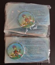 Disney Earth Day 1998 Jiminy Cricket Environmentality Button New Package of 15