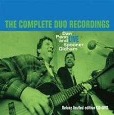 Live The Complete Duo Recordings 0805520111324 by Dan Penn CD With DVD