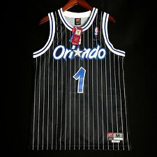 100% Authentic Tracy Mcgrady Nike Magic Stitched away Jersey Size M 40 - tmac
