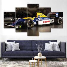 Williams FW14B Formula 1 Car Canvas Framed 5 Pcs Wall Art Poster Decor
