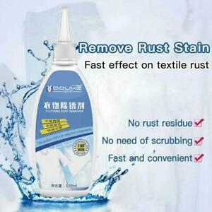 120ml Rust Remover Clothing Rust Stain Yellow Remover Rust Remover