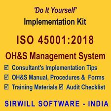 ISO45001:2018 OHSMS Documentation and Training Kit