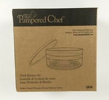 Pampered Chef Drink Rimmer Set 2424 New In Box