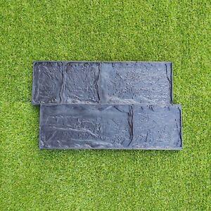 Concrete RUBBER Stamp *BRUK* Mat for printing on cement imprint sidewalk