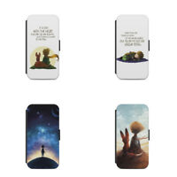 THE LITTLE PRINCE QUOTE FLIP WALLET PHONE CASE COVER WALLET FITS FOR ALL MODELS