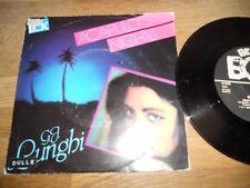 G. J. LUNGHI ACAPULCO NIGHTS 1985 SWEDISH 7 INCH SINGLE BEAT BOX RECORDS NCB OOP