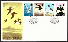Jersey 1975 Sea Birds First Day Cover Unaddressed
