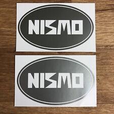 Nissan NISMO Stickers Vinyl Decal Silver JDM Drift Skyline S13 S14 S15 R32 R33