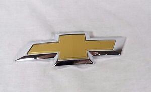CHEVY MALIBU EMBLEM 16-21 REAR TRUNK OEM GOLD BOWTIE BADGE back sign logo symbol