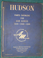 1955 HUDSON PARTS CATALOG  / ORIGINAL PARTS BOOK!! BODY AND CHASSIS