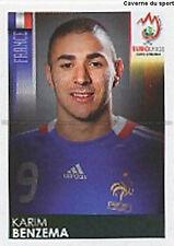 N°354 VIGNETTE PANINI BENZEMA FRANCE EURO 2008  STICKER