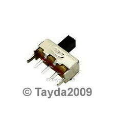 3 x Slide Switch 1P2T Through Hole 0.5A 50VDC - FREE SHIPPING