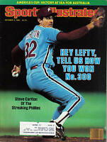 1983 Sports Illustrated baseball magazine Steve Carlton Philadelphia Phillies VG