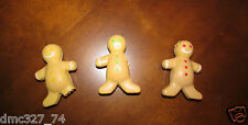 12 CHRISTMAS Holiday Party Favors Stocking Stuffers GINGERBREAD MEN STRESS BALLS