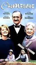 Candleshoe VHS Disney Jodie Foster as orphan pretends to be long lost gdaughter