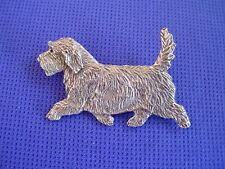 Petit Basset Griffon Vendeen Pin Trotting #91F dog jewelry by Cindy A. Conter