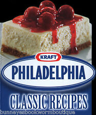 PHILADELPHIA CLASSIC RECIPES Cookbook NEW Kraft CREAM CHEESE Shaped COOKING