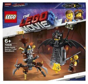 Lego Batman Battle-Ready Batman™ and MetalBeard 70836 Building Kit 168 Pcs