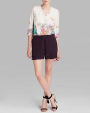 59a748c1e4166 TED BAKER size 4 - Floral prints V Neck Jumpsuits Rompers 12 US 14 UK NEW